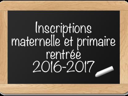 Inscription écoles Amancy – Rentrée 2016-2017