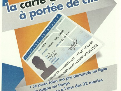 CARTE D'IDENTITE – Nouvelles dispositions