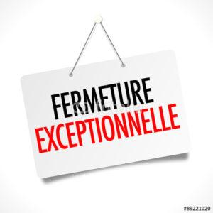 Fermeture exceptionnelle de la Mairie samedi 19 mai 2018