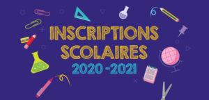 Inscription école élémentaire 2020-2021 (pour le 16 avril 2020 dernier délai)
